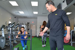 pushing and ropes Sports Specific Training